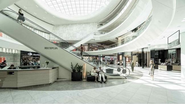 Количество торговых центров в Польше